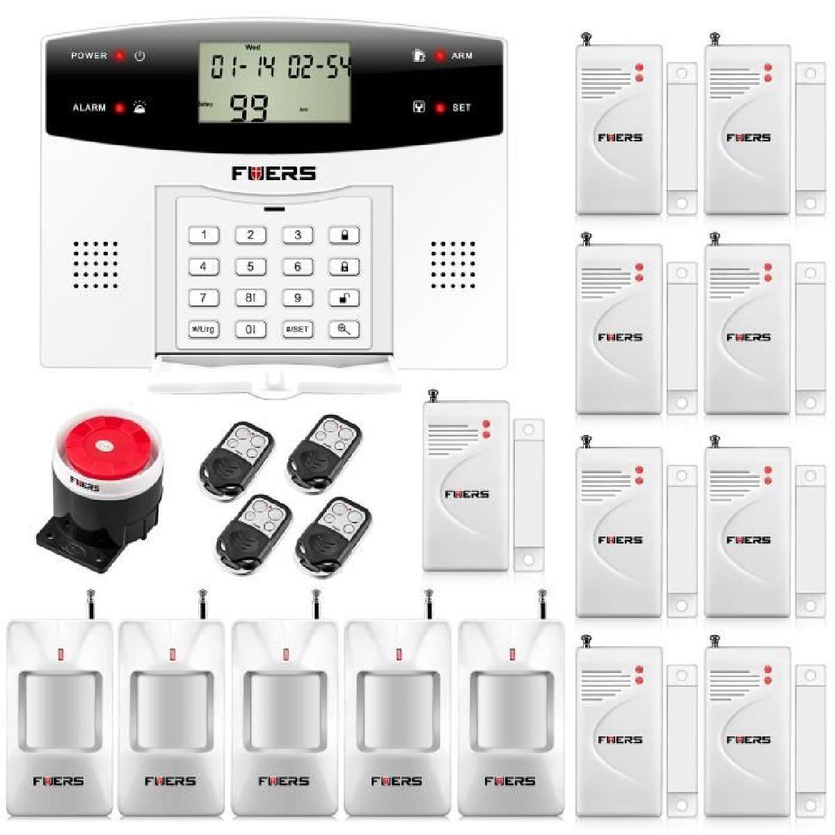 Alarme maison sans fil : quel type de capteurs choisir ?